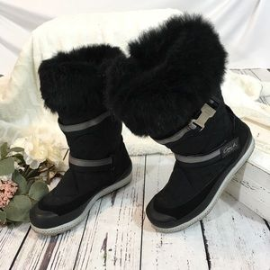 Coach boots with the fur Mariette fur boots